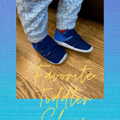 Favorite toddler shoes for the first-time walker